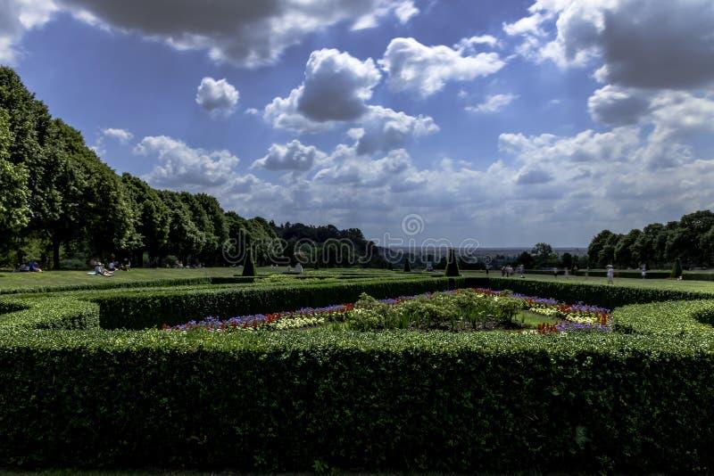 Сад Cliveden стоковая фотография rf