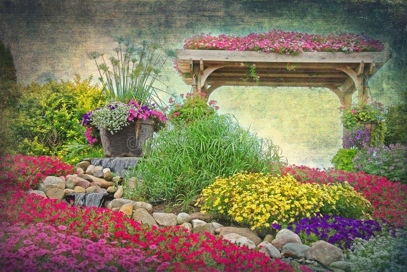 сад eden стоковые изображения rf