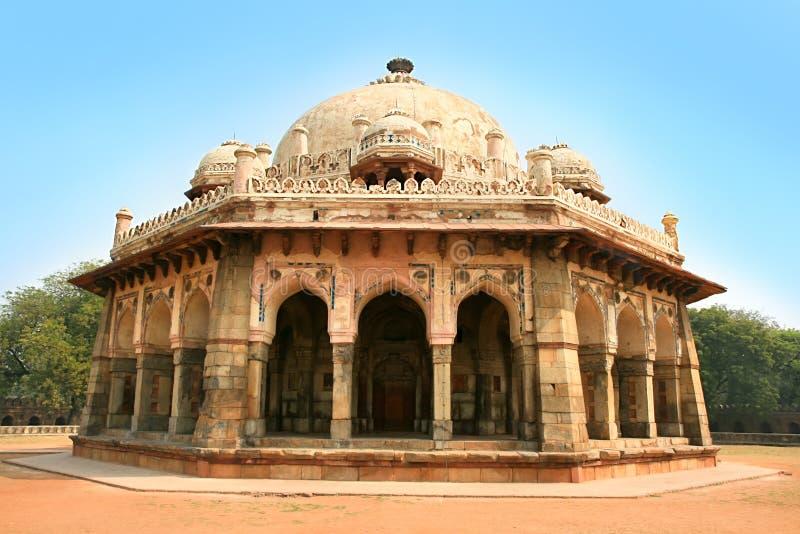 Сад Lodi в городе Дели, Индии стоковое изображение