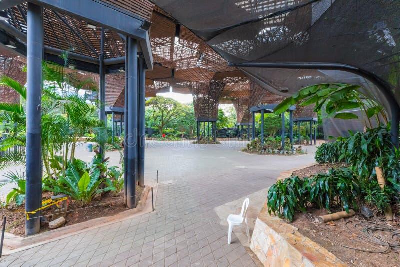 Сад Orquideorama Medellin ботанический стоковые фотографии rf