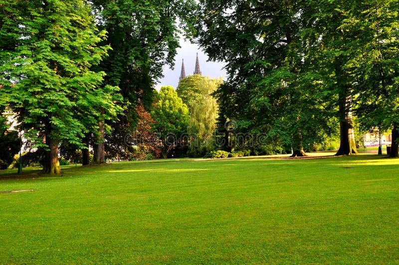сад prague королевский стоковая фотография
