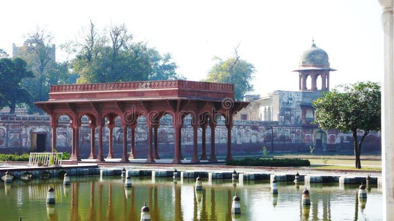 сад shalimar стоковая фотография rf