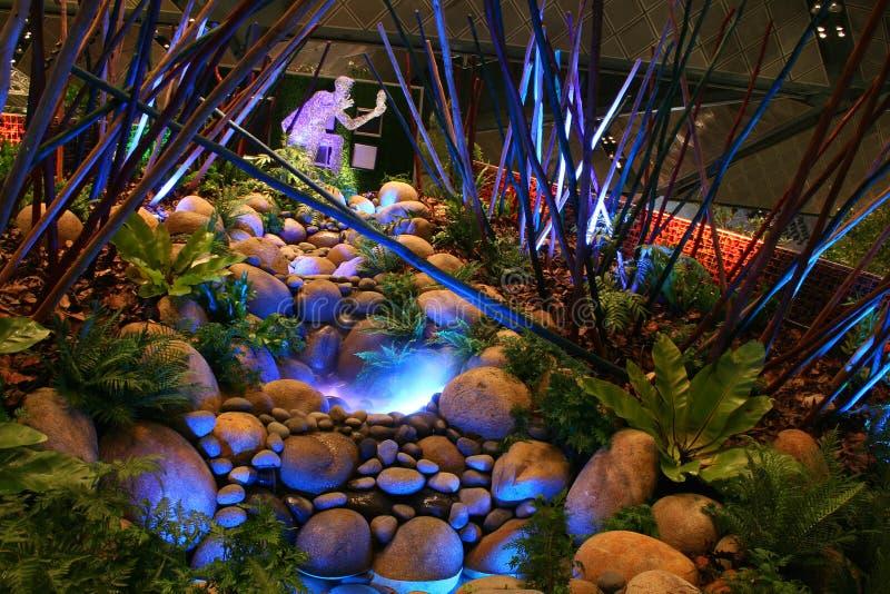 сад singapore празднества 2008 дисплеев стоковые изображения