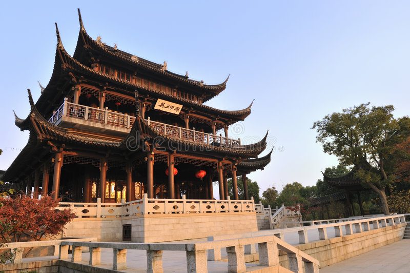 сад suzhou стоковые фото