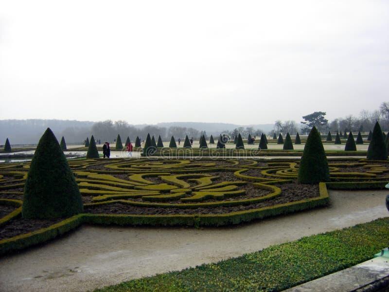 сад versailles стоковое изображение rf
