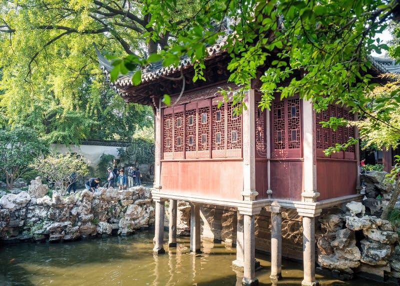 Сад Yu юаней Yu, Шанхай, Китай стоковое изображение rf