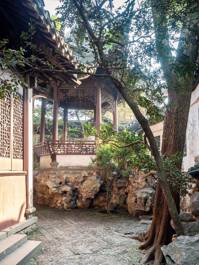 Сад Yu юаней Yu, Шанхай, Китай стоковая фотография