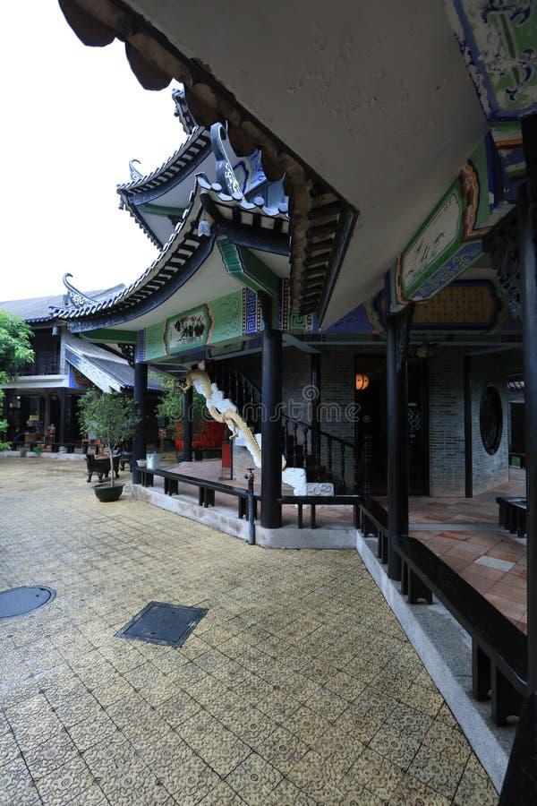 Сад #19 Yuyin Shanfang - один из самого красивого сада 4 в Гуанчжоу - - историческая достопримечательность Гуанчжоу - Гуандун - К стоковое фото rf
