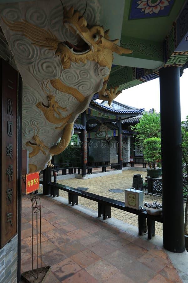 Сад #21 Yuyin Shanfang - один из самого красивого сада 4 в Гуанчжоу - - историческая достопримечательность Гуанчжоу - Гуандун - К стоковое изображение rf