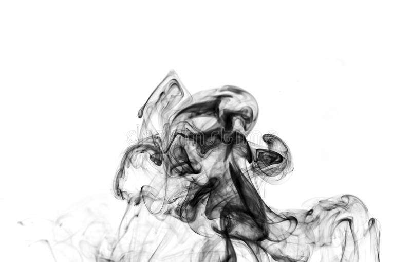 Сажа. Черный дым. стоковое фото rf