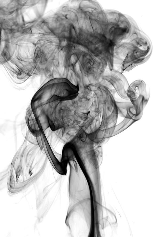 сажа черный дым стоковые изображения rf