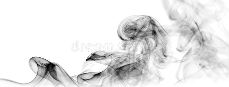 сажа черный дым стоковое изображение