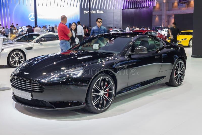 Сажа Aston Мартина DB9 стоковое фото