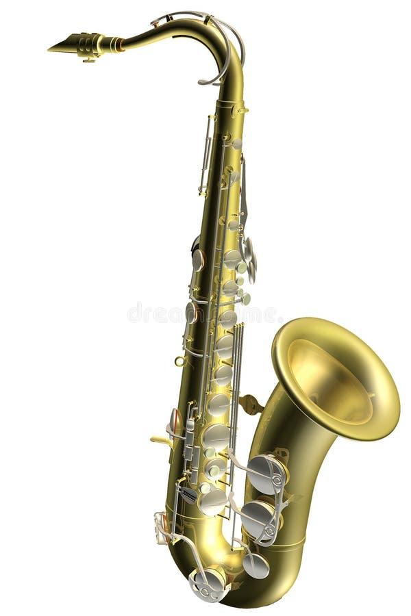 саксофон иллюстрации 3d бесплатная иллюстрация