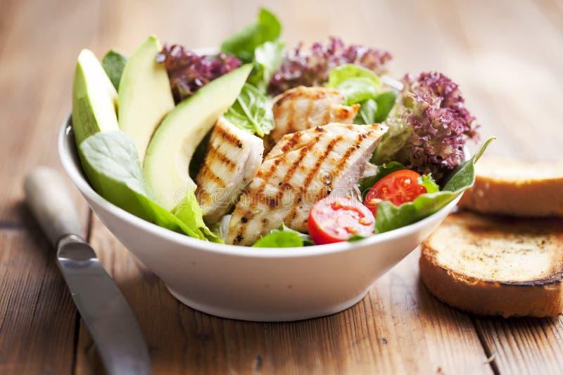 салат из курицы стоковая фотография rf