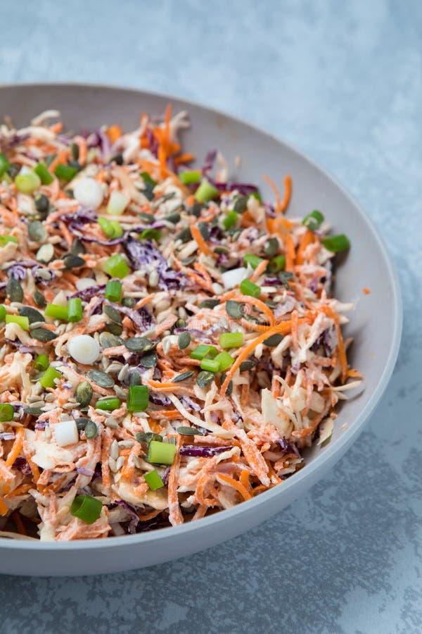 Салат капусты моркови стоковые изображения