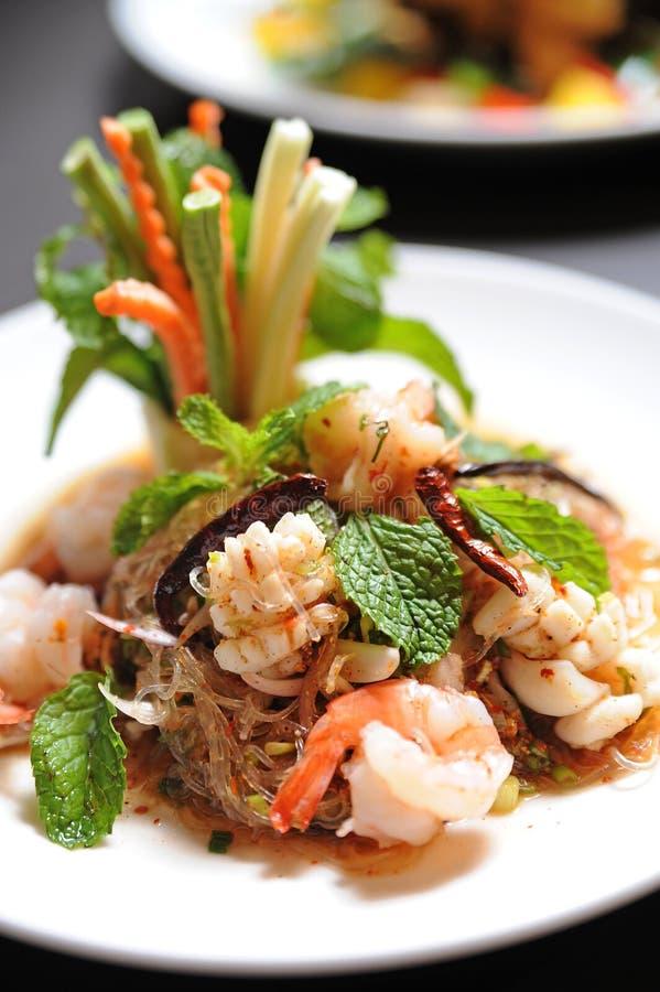 салат лапши тайский стоковое изображение