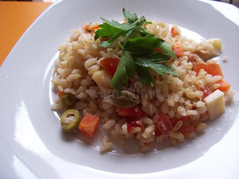 салат риса стоковое фото