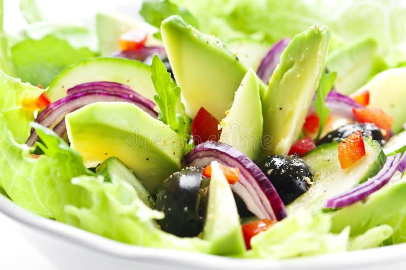 Салат с авокадоом стоковое фото