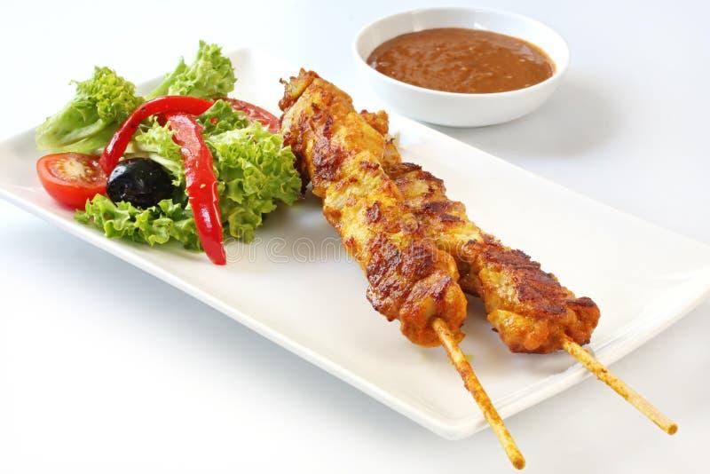 салат kebabs стоковая фотография