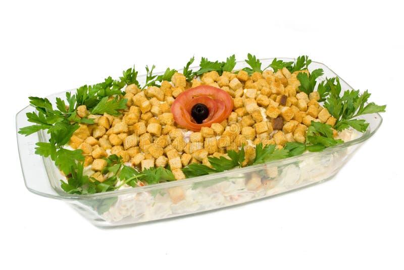 салат rusks стоковое фото rf