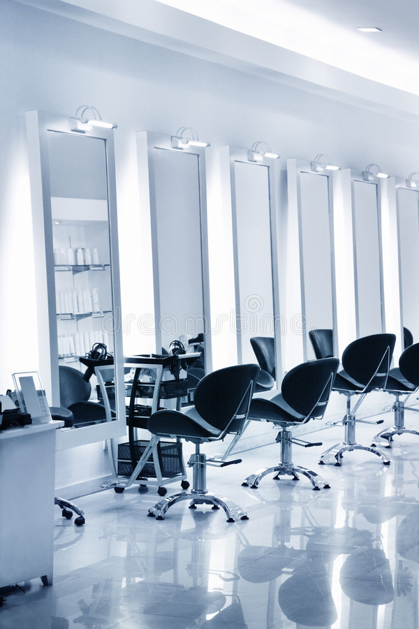 салон волос стоковое изображение