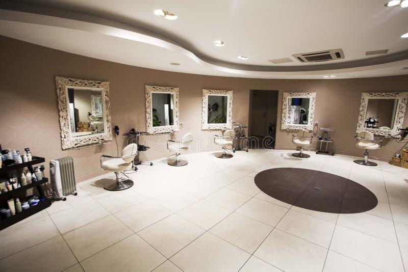 Салон красоты или косметический кабинет стоковое фото