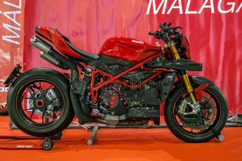 Салон Moto экспо & велосипед стоковая фотография