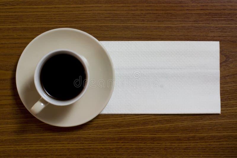 салфетка кофе стоковые изображения