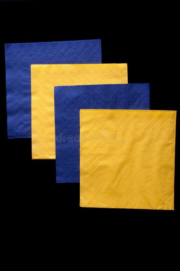 салфетки стоковое изображение