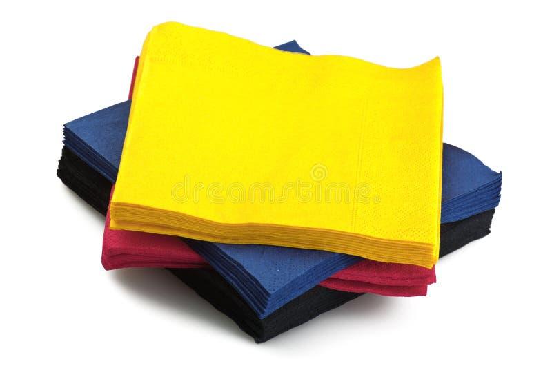 салфетки стоковая фотография rf