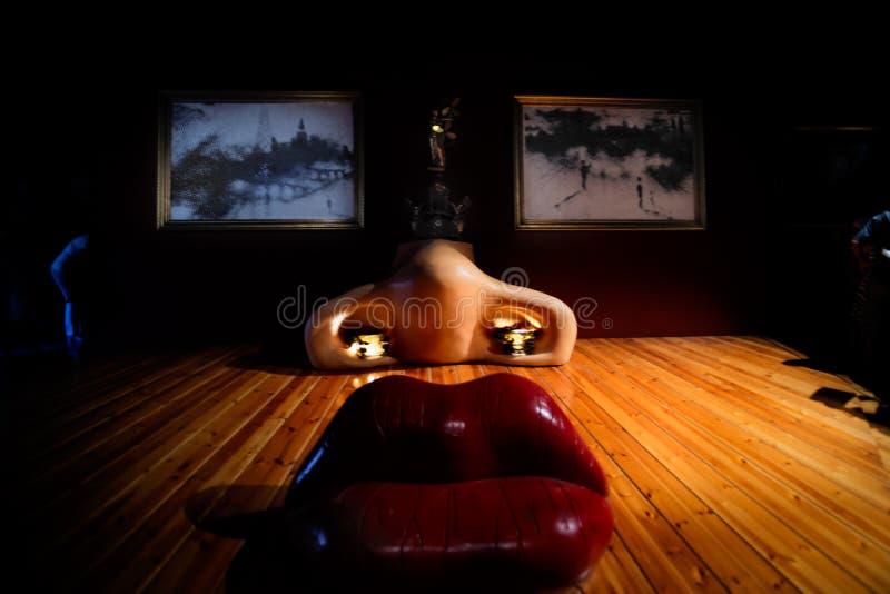Сальвадор Dali стоковое фото rf