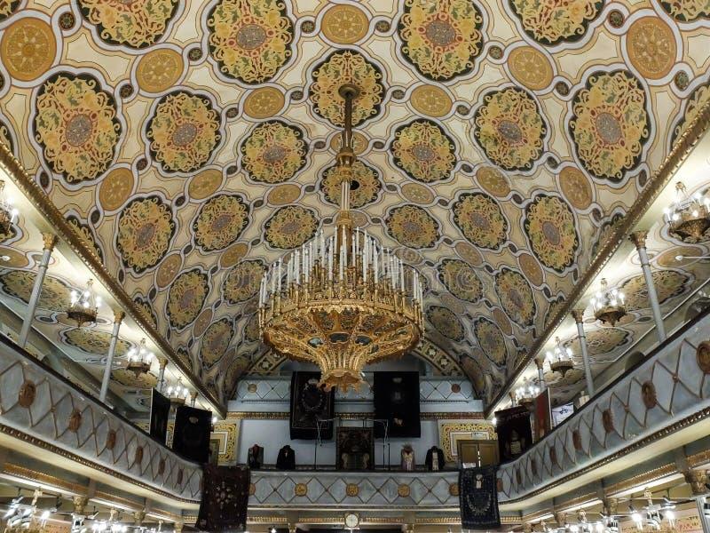 Самая красивая синагога в Бухаресте стоковые изображения