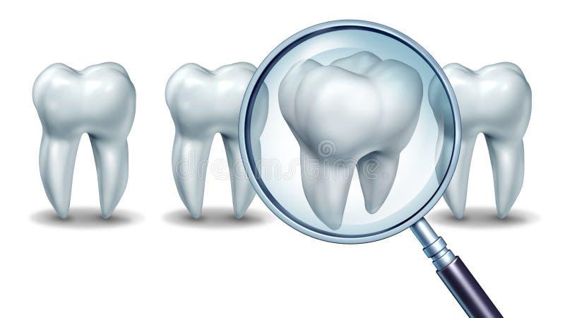 Самая лучшая зубоврачебная забота иллюстрация штока