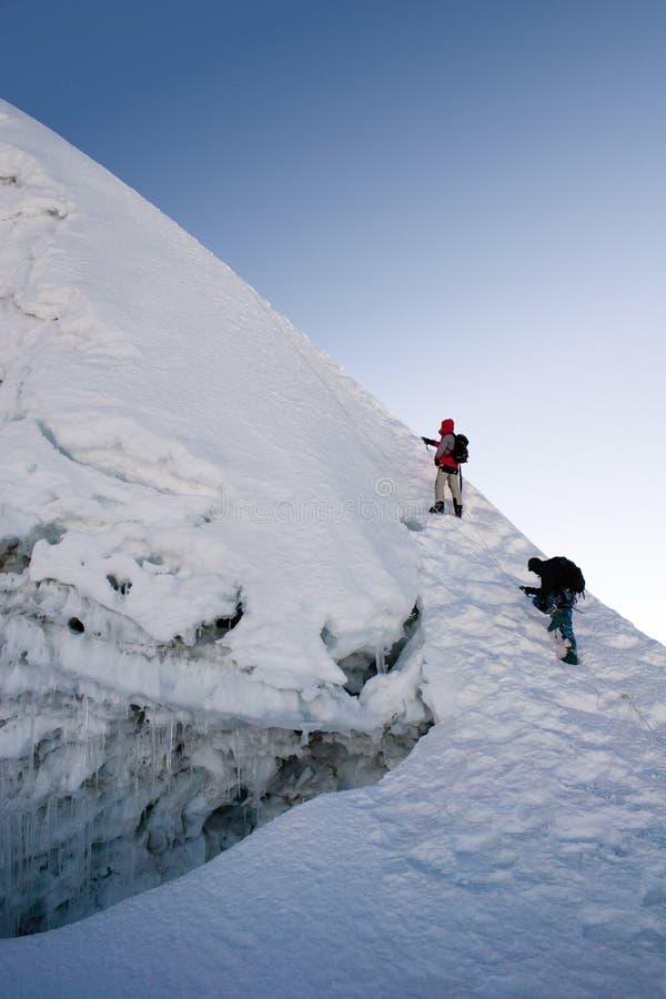 саммит Непала острова пиковый стоковое фото rf