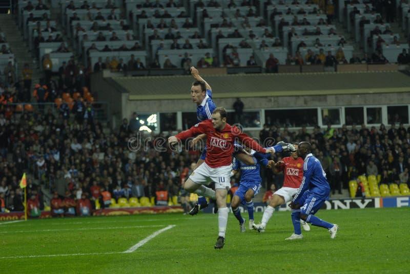 самое лучшее rooney wayne Франции футбола 2009 30players стоковая фотография