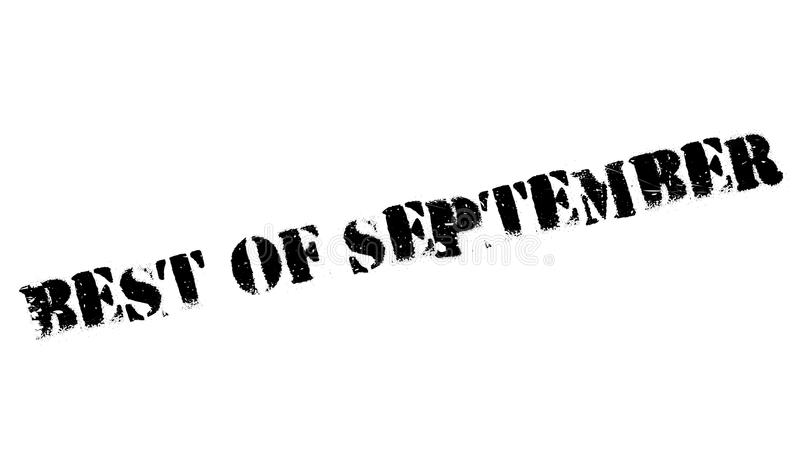 Самое лучшее избитой фразы в сентябре бесплатная иллюстрация