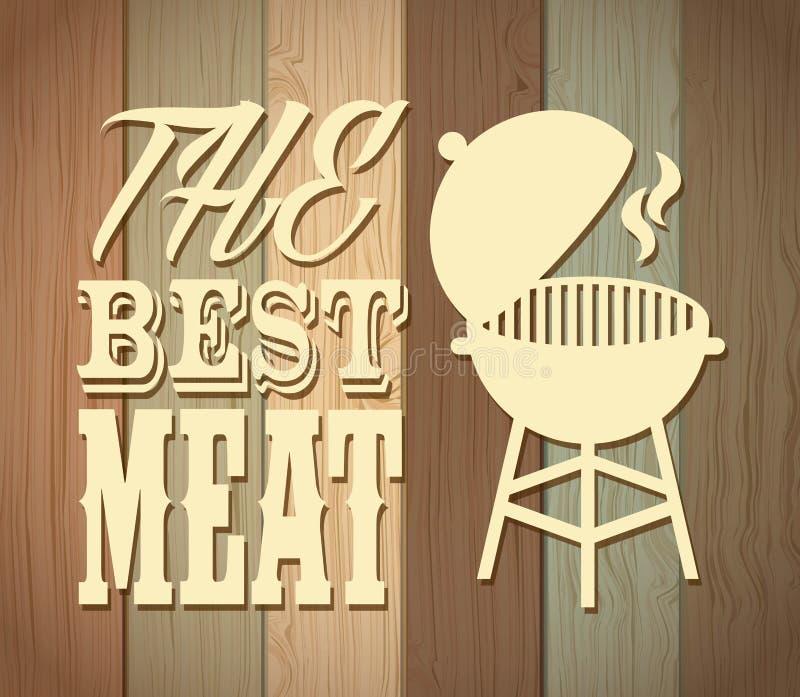 Самое лучшее мясо бесплатная иллюстрация