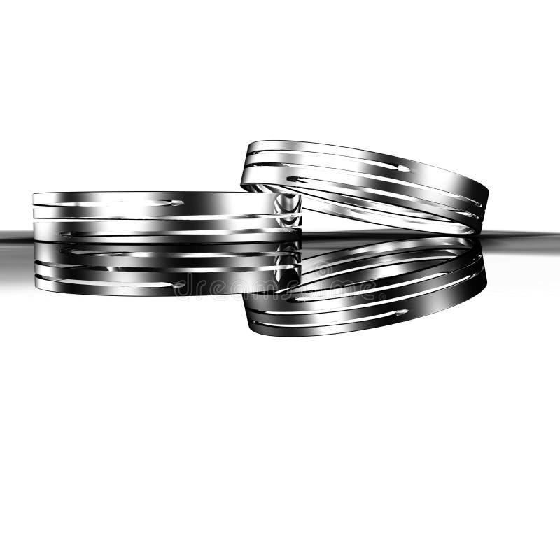 Самое лучшее обручальное кольцо стоковые фото