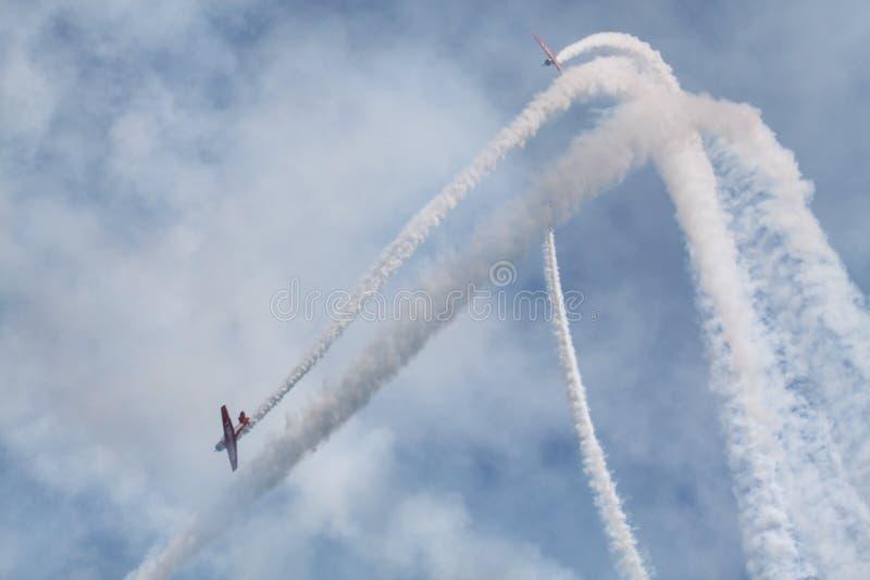 самолеты ретро стоковое изображение