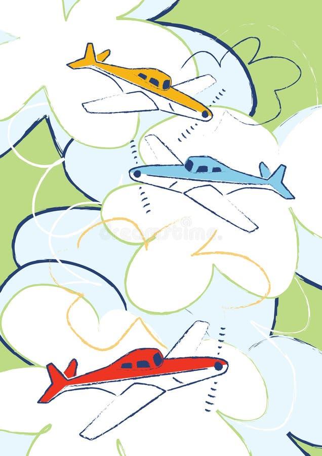 самолеты бесплатная иллюстрация