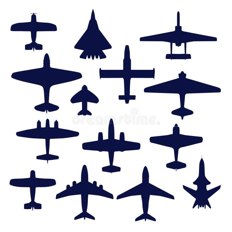 самолеты иллюстрация вектора