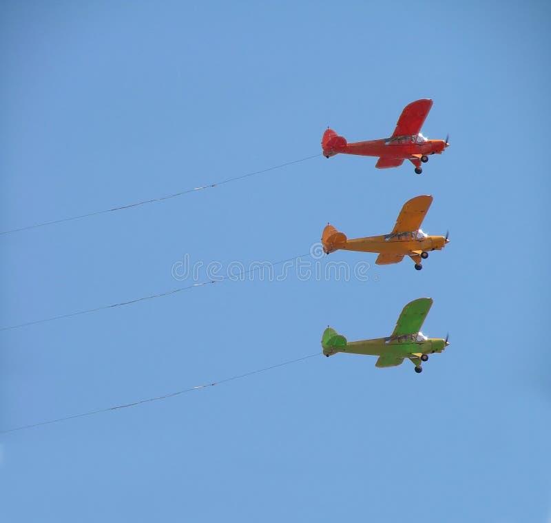Download самолеты 3 стоковое фото. изображение насчитывающей дело - 486724