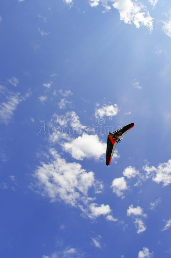 Самолет в небе стоковые фотографии rf