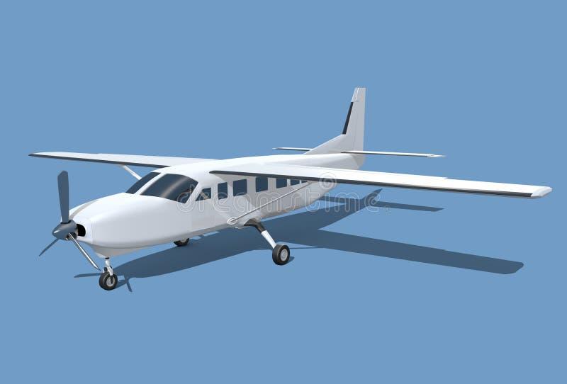 Самолет каравана Цессны грандиозный бесплатная иллюстрация
