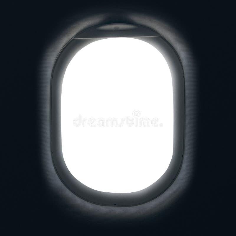 самолет, котор будут имеет извлекли изображением, котор окно взгляда Взгляд извлекался от изображения стоковая фотография rf