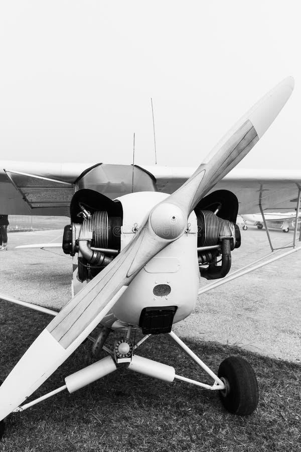 Самолет Сибирского бурундука DHC-1 стоковое фото