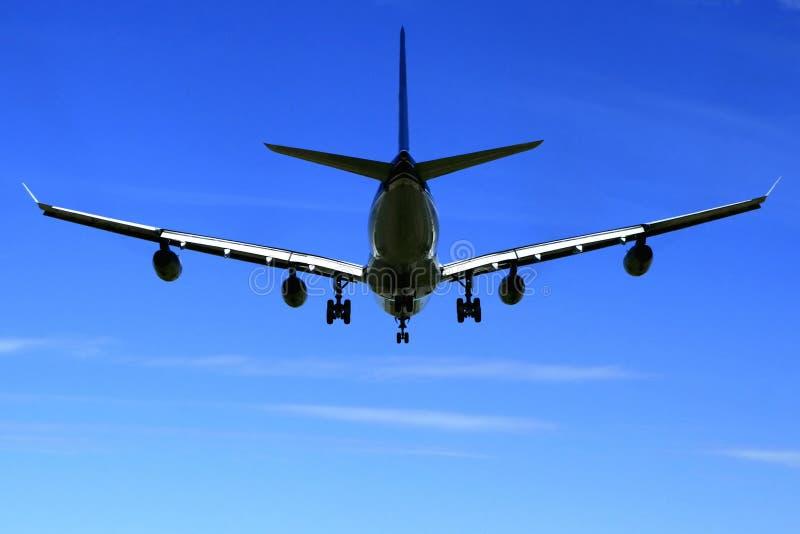 самолет a340 airbus стоковые фото