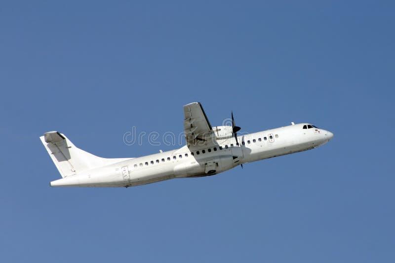 Самолет ATR-72 стоковые фото