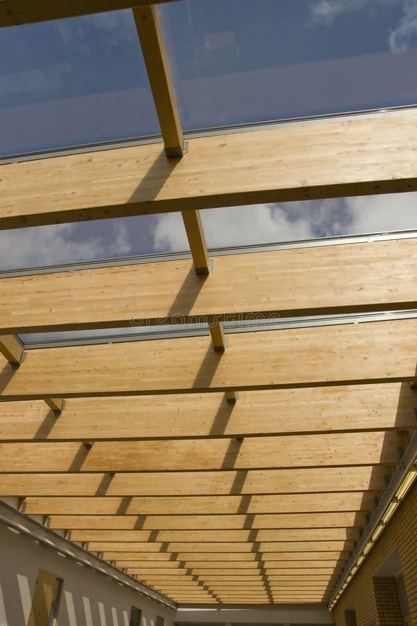 самомоднейшая крыша стоковое изображение rf